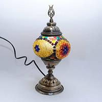 Настольная лампа из мозаики 30 см Sinan-11