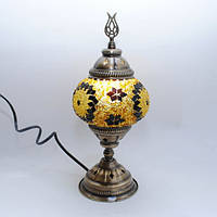 Настольная лампа из мозаики 30 см Sinan-12