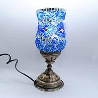 Настольная лампа Тюльпан мозаика 30 см Sinan-17