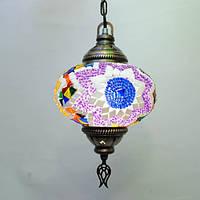 Люстра восточная 1 плафон диаметр 18 см Sinan-25