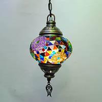Люстра из мозаики 1 плафон 45 см Sinan-32