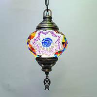 Люстра для кальянной 1 плафон 45 см Sinan-28