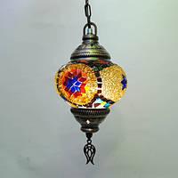 Люстра из мозаики 1 плафон 45 см Sinan-30