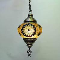 Восточный светильник люстра 1 плафон 45 см Sinan-35
