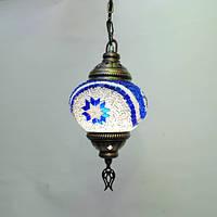 Люстра из мозаики 1 плафон 45 см Sinan-36