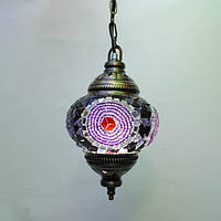 Люстра из мозаики 1 плафон 45 см Sinan-37