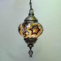 Люстра декоративная 1 плафон 45 см Sinan-38