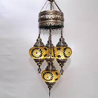 Люстра из мозаики 4 плафона Sinan-44