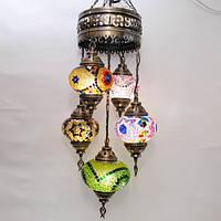 Турецкая люстра 5 плафонов Sinan-46