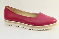 Туфли-лодочки женские кожаные / Women's pumps leather