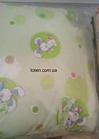 Детский постельный комплект 7 предметов Зайчишка