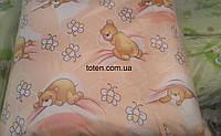 Детский постельный комплект 7 предметов Мишата
