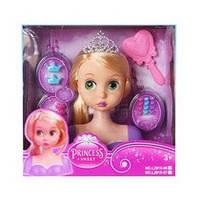 Кукла L2015-66 (36шт) DPR, голова для причесок, 18см, расческа, заколочки, в кор-ке, 26,5-26-11,5см