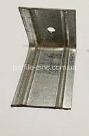 Фасадный кронштейн оцинкованный L-образный 150х50х50х2,0