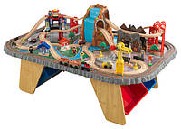 Игровой стол KidKraft 17498 Waterfall Junction Train Set & Table