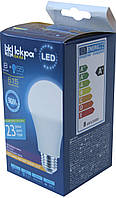 Лампа светодиодная Iskra LED 8W (аналог 55 Вт) цоколь E27 колба A60 3000K (желтый свет), фото 1