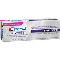 Отбеливающая зубная паста Crest 3D White  116 грамм Brilliance