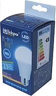 Лампа світлодіодна Iskra LED 8W (аналог 55 Вт) цоколь E27 колба A60 4000K (білий світ)