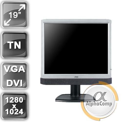 """Монитор 19"""" AOC LM929 (3:4/TN/VGA) class A БУ"""