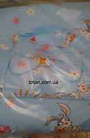 Детский постельный комплект 7 предметов Зайчонок