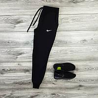 Спортивные мужские зимние штаны Nike флисе