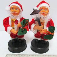 Дед Мороз 18см Санта муз двигается 8841-2 №8