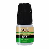 Клей для бровей и ресниц Premium Black, 3г Kodi Professional
