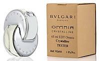 Тестер. Женская туалетная вода Bvlgari Omnia Crystalline (Булгари Омния Кристаллин) 65 мл