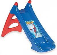 Детская Горка с водным эффектом SpiderMan Smoby 310203
