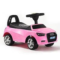 Детская каталка толокар Audi M 3147A-8 розовая