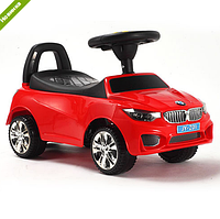 Детская каталка толокар M 3147B-3 BMW красная
