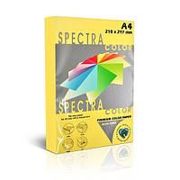 Папір кольоровий 80г/м, А4 500арк. SPECTRA COLOR IT 160 Yellow (Пастельний жовтий)