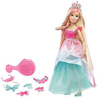 Кукла Барби 43 см Сказочно-длинные волосы Блондинка / Barbie Dreamtopia Endless Hair Kingdom