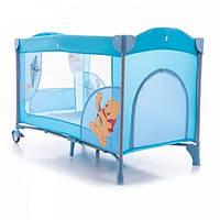 Детская кровать манеж Bambi А 03-8, голубой