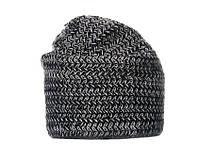 Теплая женская шапка чёрная
