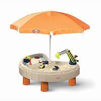 Детская Песочница-Стол Little Tikes Веселая Стройка 401N