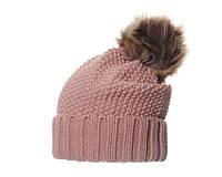Женская шапка с меховым помпоном бейлиз