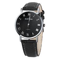 Часы мужские наручные чёрные арт. 080