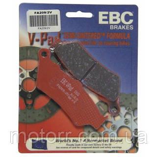 Тормозные колодки EBC FA209/2V
