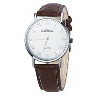 Часы мужские наручные коричневые арт. 080