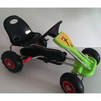 Детский велокарт Bambi GM105 резиновые колеса