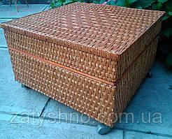 Стол комод плетеный