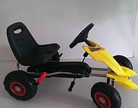 Детский велокарт Bambi GM28 резиновые колеса