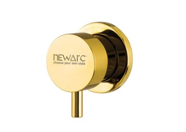 Запорный вентиль NEWARC Maximal (101632G) золото, фото 2