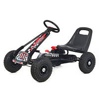 Детский велокарт GoKart Formula-1 M 0645-2 черный