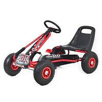 Детский велокарт GoKart Formula-1 M 0645-3 красный