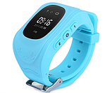 Дитячі розумні годинник Q50 з GPS трекером і функцією телефону (Sky Blue), фото 2