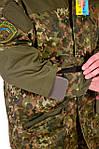 Костюм  горка 3 Бундес Флектарн, ХБ с пропиткой , наколенники +кордура М-11, фото 8