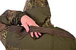 Костюм  горка 3 Бундес Флектарн, ХБ с пропиткой , наколенники +кордура М-11, фото 9