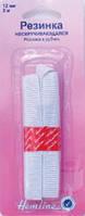 Резинка общего назначения - нескручивающаяся (в рубчик) 12мм*2м